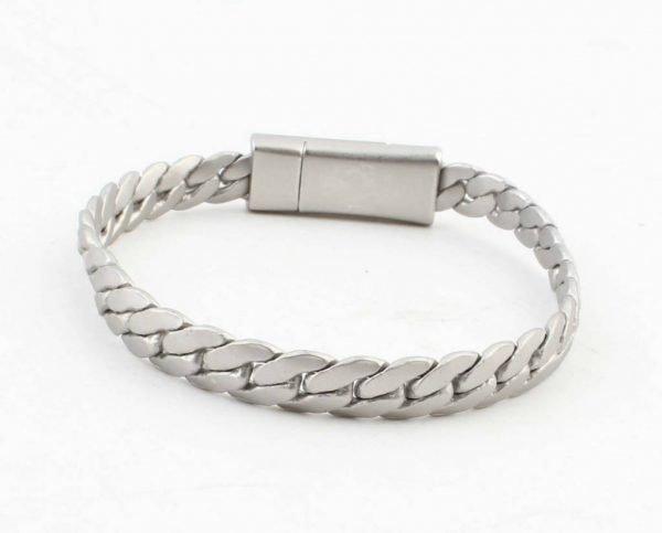 armband-liv-mat zilver zilveren schakel armbanden dames stoere goedkope hippe bracelets ladies musthave fashion online