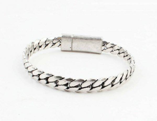 armband-liv-oud-zilver zilveren schakel armbanden dames stoere goedkope hippe bracelets ladies musthave fashion online