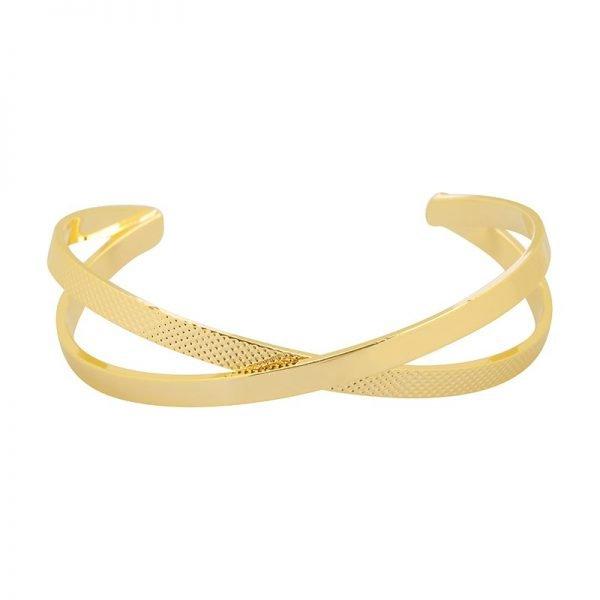 Armband Crossings goud gouden goldplated dames open armbanden accessoires dames sieraden bestellen online