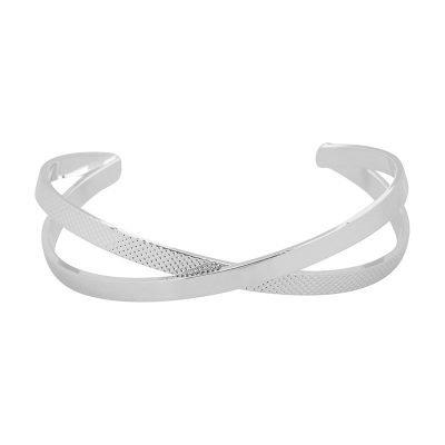 Armband Crossings zilver zilveren goldplated dames open armbanden accessoires dames sieraden bestellen online