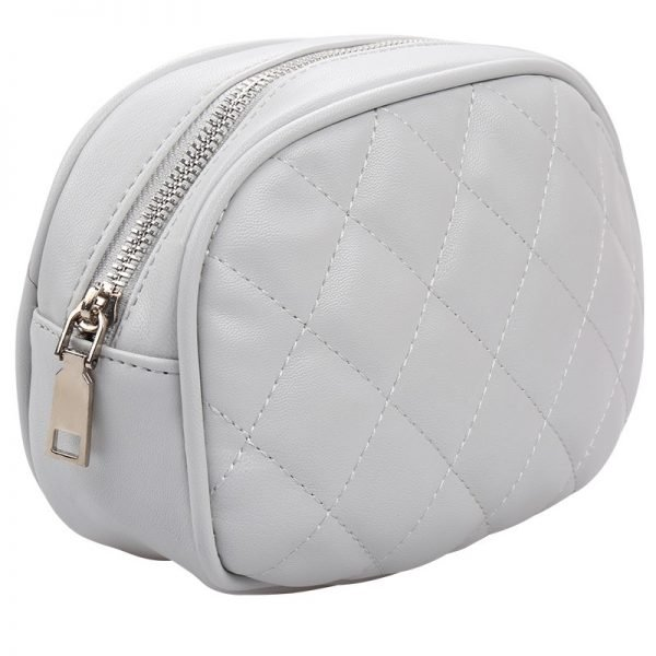 Heuptas-Chic Coco-Grijs grijze belt bag riem tasjes-fannypack-fanny-pack-heuptas-beltbag-marmont-dames-gewatteerd-clutch fashion-online-bestellen