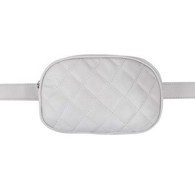 Heuptas-Chic Coco-Grijs grijze belt bag riem tasjes-fannypack-fanny-pack-heuptas-beltbag-marmont-dames-gewatteerd-fashion-online-bestellen