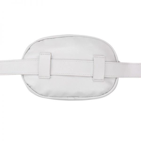 Heuptas-Chic Coco-Grijs grijze belt bag riem tasjes-fannypack-fanny-pack-heuptas-beltbag-marmont-dames-gewatteerd-fashion-online-bestellen achter