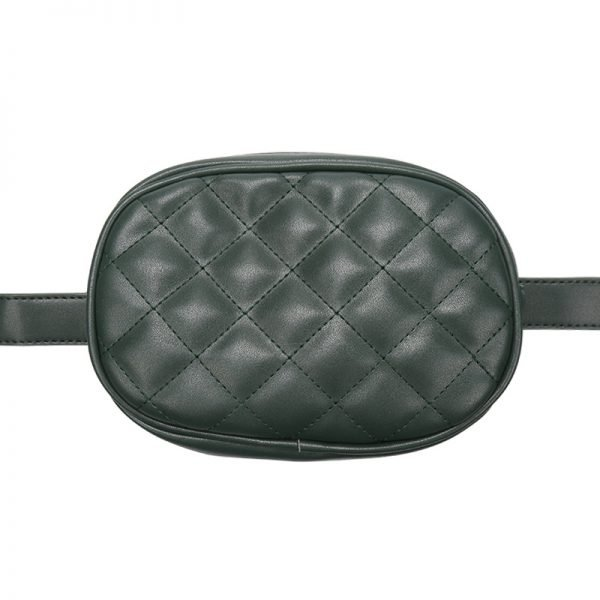 Heuptas-Chic Coco-groen groene belt bag riem tasjes-fannypack-fanny-pack-heuptas-beltbag-marmont-dames-gewatteerd-fashion-online-bestellen