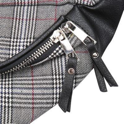 Heuptas Old Skool grijs grijze zwart fannypack heuptassen met rits heup tassen musthave fashion accesiores festival kopen bestellen detail