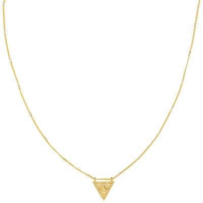 Ketting Magic Triangle goud gouden lange dames ketting met driehoeks bedel festival kettingen laagjes musthave fashion online