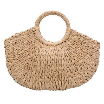 Rattan Tas Summer Love rotan rieten dames tassen strand beige bruine zomer online kopen
