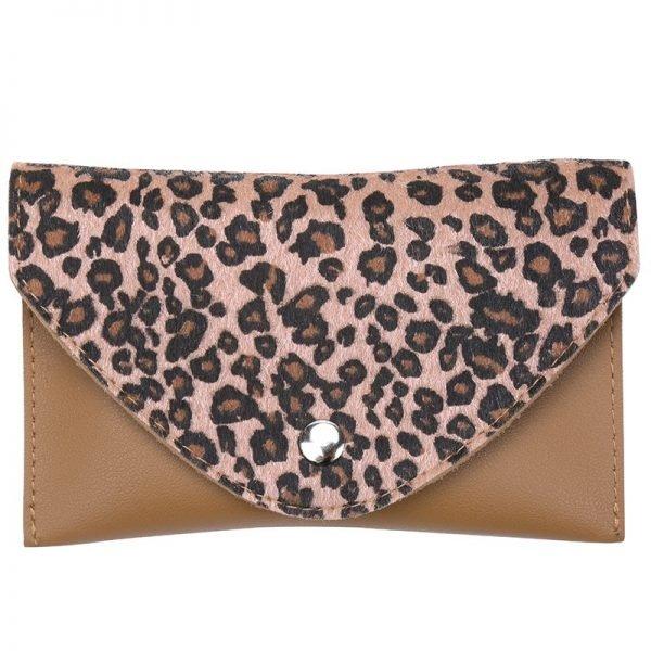 Riem Tasje Wild Thing leopard belt bag heuptasjes cognac bruine dierenhuid flap exotische dieren print fashion musthave items