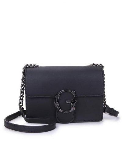 Tas G Snake Flap zwart zwarte dames schoudertassen kettinghengsel zilveren g gesp giuliano tassen kunstleder festival bags