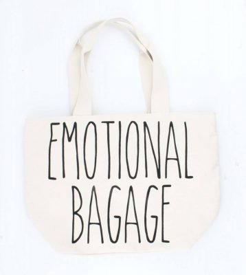 Canvas Shopper Emotional bagage creme-witte grote tassen shopper canvastassen online kopen