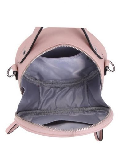 Ronde Schoudertas Classy roze pink kleine ronde schoudertassen kant motief print musthave zomer tassen bags rits dames online giuliano