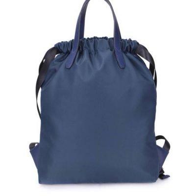 Rugtas King blauw blauwe grote rugzakken rugzak backpacks met tekst blue musthave fashion tassen online kopen achterkant kopen