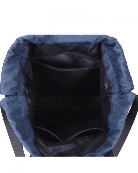 Rugtas King blauw blauwe grote rugzakken rugzak backpacks met tekst blue musthave fashion tassen online kopen binnenkant kopen
