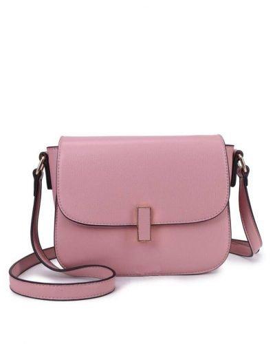 Tas Simply roze pink schoudertassen draaisluiting dames tassen tas itbag kunstleder giuliano online tassen kopen