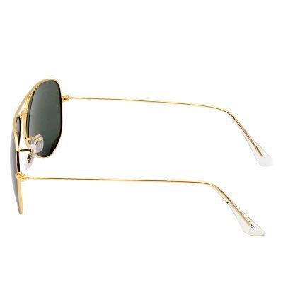 Zonnebril Miss Pilot goud gouden piloten montuur groene groen glazen musthave fashion brillen bestellen