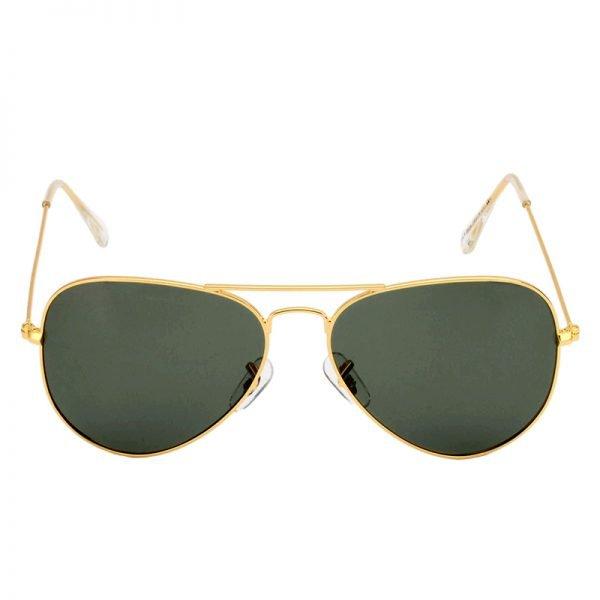 Zonnebril Miss Pilot goud gouden piloten montuur groene groen glazen musthave fashion brillen kopen