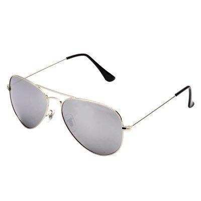 Zonnebril Miss Pilot zilver zilveren piloten montuur grijze zwarte glazen musthave fashion brillen online