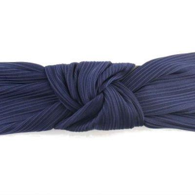 Haarband Knoop blauw blauwe dames haarbanden haaraccesoires elastiek achter fashion headbands online