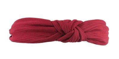 Haarband Knoop rood rode dames haarbanden haaraccesoires elastiek achter fashion headbands online
