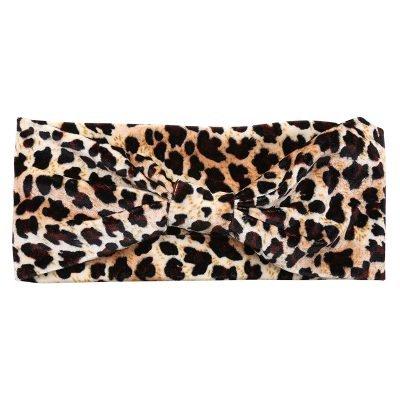 Haarband Leopard 2 dames haarbanden dieren tijger print kleurrijke prints musthave fashion headbands strik