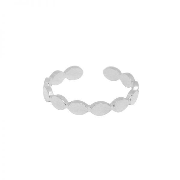 RVS Ring Dreams zilver zilveren open ringen stainless steel dames ringen rings silver