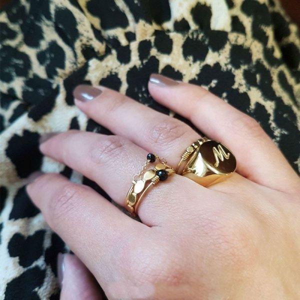 RVS Ring Dreams zilver zilveren open ringen stainless steel dames ringen rings silver kopen