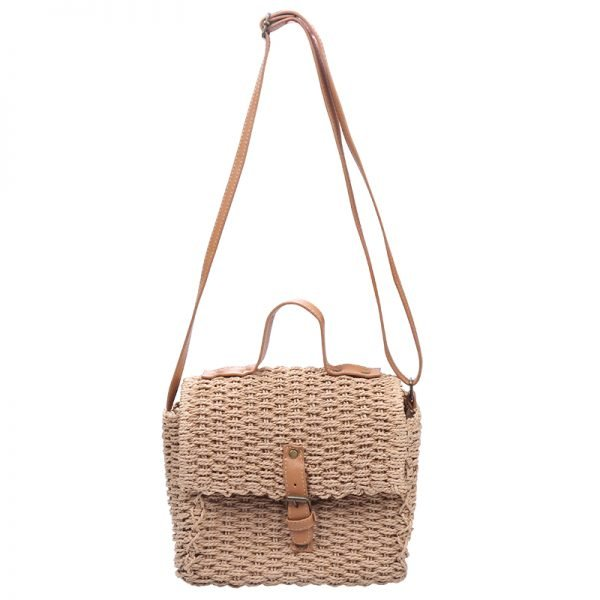 Rieten Tas Olive bruin bruin rieten stra dames tassen summer bags handtassen schouder tas beach bags rattan rotan
