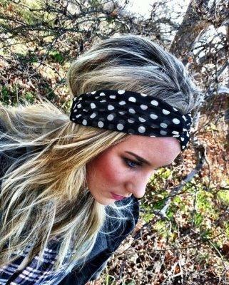 polka dots haarbanden headbands online bestellen kopen