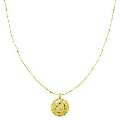 Geurketting Snake medaillon goud gouden lange dames ketting parfum bedel unieke sieraden accessoires kopen