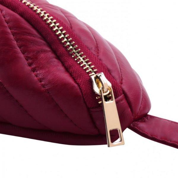 Heuptas Big V rood rode goud beslag heuptassen fannypack beltbags online bestellen kopen rits musthave