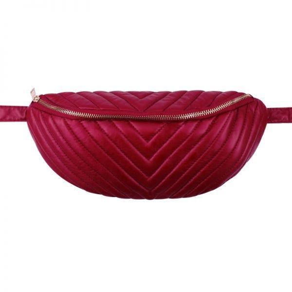 Heuptas Big V rood rode heuptassen fannypack beltbags online bestellen kopen rits musthave