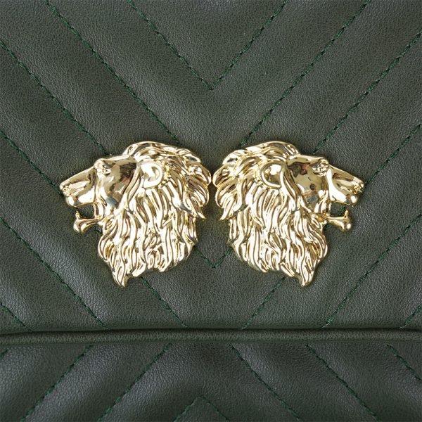 Heuptas Lions groen groene musthave dames riem heup tassen bagbelt leeuwenkop ruime hip kopen bestellen inspired