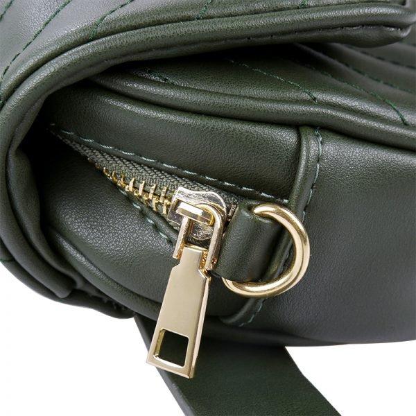 Heuptas Lions groen groene musthave dames riem heup tassen bagbelt leeuwenkop ruime hip kopen bestellen look a like kopen detail