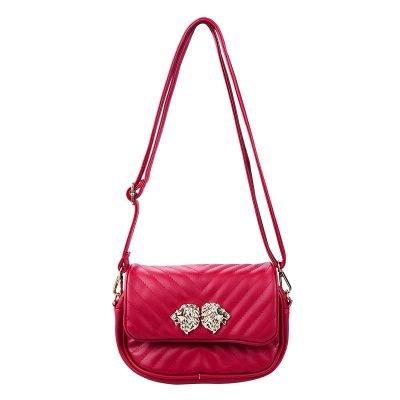 Heuptas Lions rood rode musthave dames riem heup tassen bagbelt leeuwenkop ruime hip kopen bestellen look a like schoudertas
