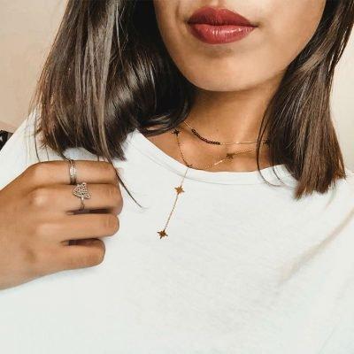 Ketting-Starry-Sky-rose-hippe-dames-kettingen-sterren-bedels-online-sieraden-accessoires-kopen-bestellen