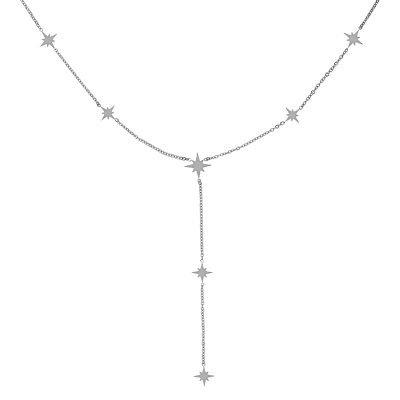 Ketting Starry Sky zilver zilveren hippe dames kettingen ster bedels online sieraden accessoires kopen bestellen