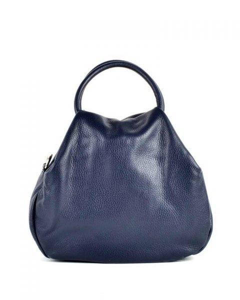 Leren Handtas Angel donker blauw blauwe dames tassen leder leer giuliano it bags online luxe mooie tassen kopen bestellen