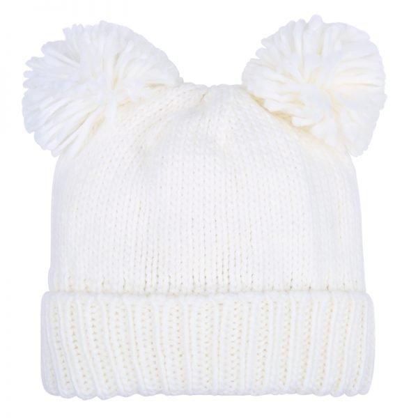 Must PomPoms Beanie wit witte dames mutsen wollen bolletje warme mutsen beanies online bestellen kopen