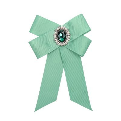 Choker Bow Tie Baroque Broche licht groen groene kraagjes hemd details dames dassen stropdassen green musthave fashion kopen