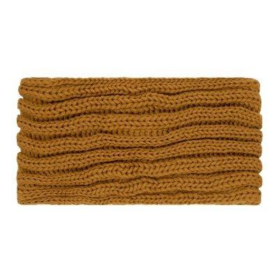 Haarband-Small Winter-Bow-oranje cognac bruin bruine-wollen-dames-haarbanden-musthave-fashion-dames-haar-accessoires-hoofdbanden hoofdband online-kopen-vrouwen achter