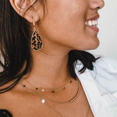 Ketting Famous Star goud gouden layers 3 kettingen sterren en hartjes musthave fashion accessoires kopen bestellen online