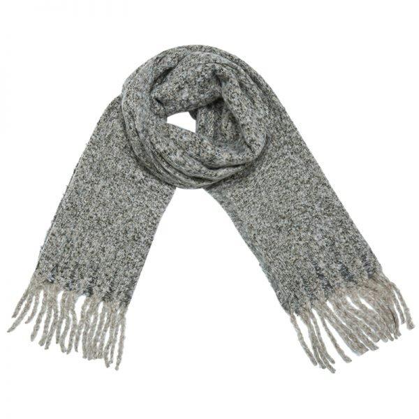 Sjaal Amazing Knit licht bruin bruine lange warme dames sjaals winter accessoires online kopen omslagdoeken