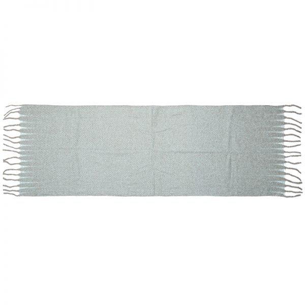 Sjaal Amazing Knit licht groen groene lange warme dames sjaals winter accessoires online kopen omslagdoeken bestellen
