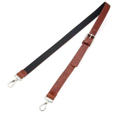 Tassen-Hengsel-Croco-bruin bruine-croco print-lederen-schouderbanden-kroko-print-voor-tassen-musthave-accessoires