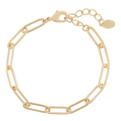 Armband Happy Chains goud gouden schakelarmbanden rvs sieraden accessoires fashion online kopen bestellen