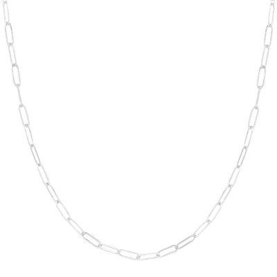 Ketting Happy Chains zilver zilveren schakel kettingen rvs sieraden accessoires fashion online kopen bestellen