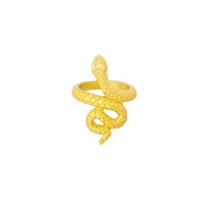 Ring Snake goud gouden dames ringen slang vorm rvs ringen dames sieraden online kopen bestellen