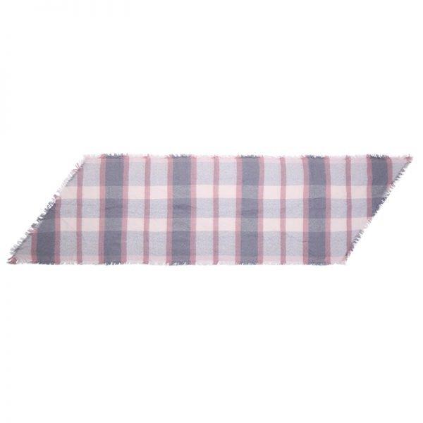 Sjaal Checkers roze geruite pastel kleurige dames sjaals omslagdoeken shawls winter accessoires online kopen bestellen