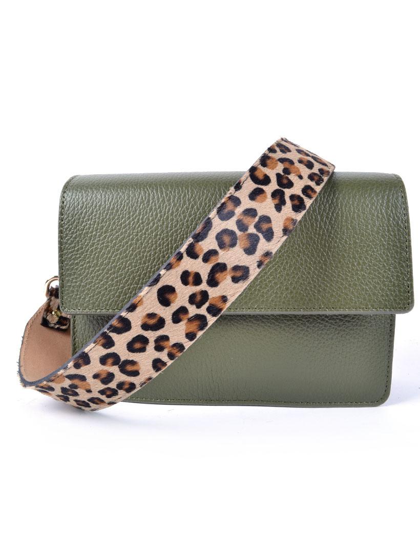 Tassenhengsel Animal print leopard dierenvacht dames bagstraps losse tasbanden trendy fashion hengsels kopen bestellen