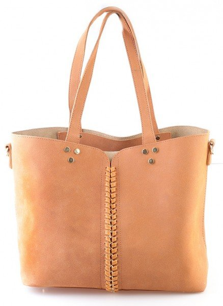 In Bruin Shoppers Shopper Extra Dames Bag Lin Tassen zwndgYqt